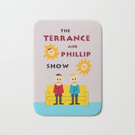 The Terrance and Phillip Show Poster Bath Mat
