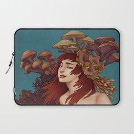 Mushroom Lady Laptop Sleeve