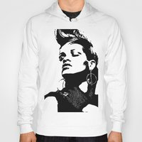 rihanna Hoodies featuring Rihanna. by Christine DeLong Creative Studio