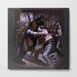 BearCurios 02 Metal Print