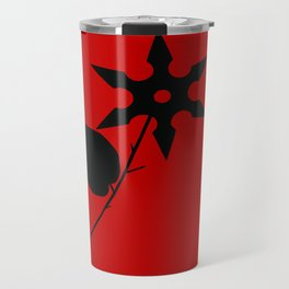 Juxtaposed Rose Travel Mug