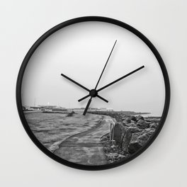 Reykjavík shore Wall Clock