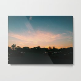 Top Parking Deck Metal Print
