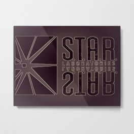 Star Labs Metal Print