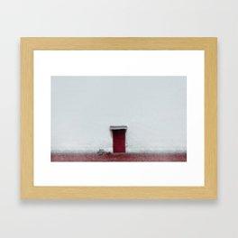 Red room Framed Art Print