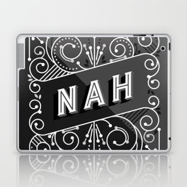 Nah – Black & Grey Palette Laptop & iPad Skin