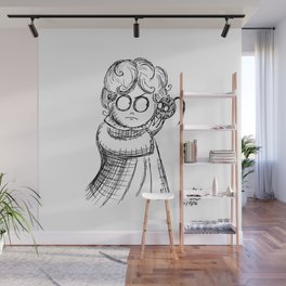 Being Normal is Vastly Overrated Wall Mural