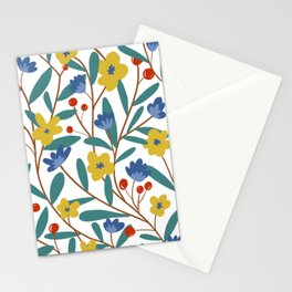 eye catching floral Stationery Cards