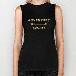 Adventure Awaits Biker Tank