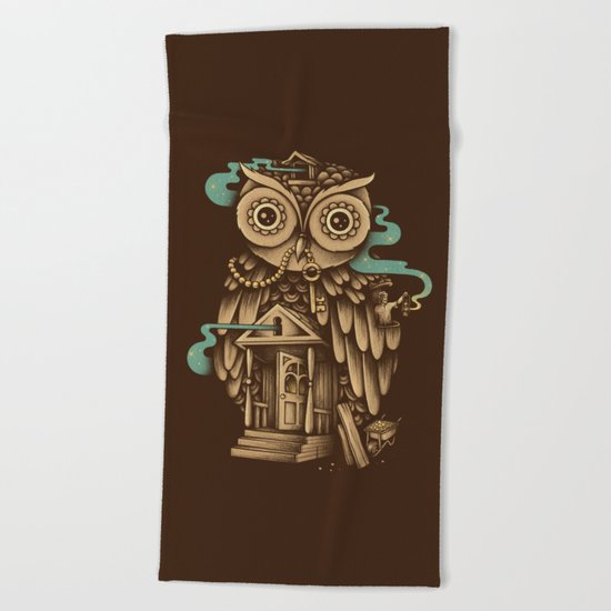 Night Watch Beach Towel