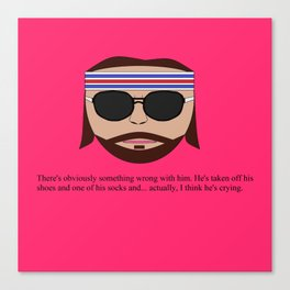 "Richie ""The Baumer"" Tenenbaum Canvas Print"