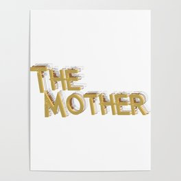 New Mom Gift First Time Mother's Day Poster