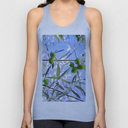 Olives in the sunshine Unisex Tank Top