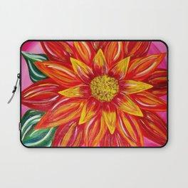 Flaming Sunflower Laptop Sleeve