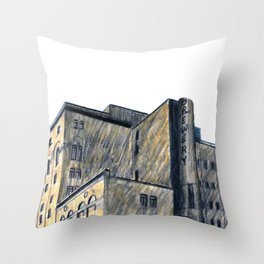DOW BREWERY Throw Pillow