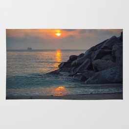The Ft. Lauderdale Jetties Rug