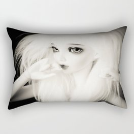 Another girl Rectangular Pillow