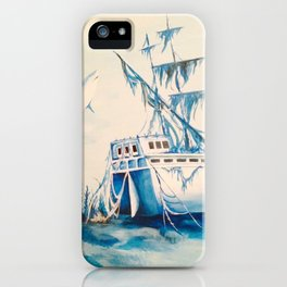 Shipwreck iPhone Case