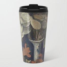 Vincent Van Gogh - Vase with Lunaria, 1884 Travel Mug