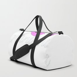 Womens Promoted to Grandma 2017 Mothers Day T-Shirt Duffle Bag