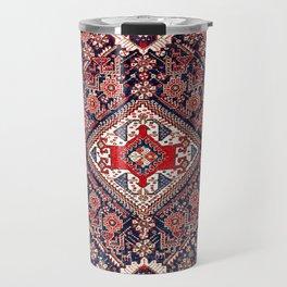 Qashqa'i Shishboluki Fars Southwest Persian Rug Print Travel Mug