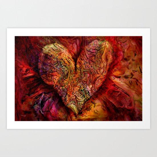 love your life  Art Print