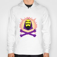 skeletor Hoodies featuring Skeletor Pixeletor by Yildiray Atas