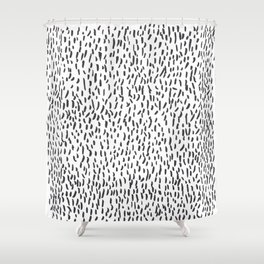 Rain fall Shower Curtain
