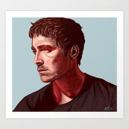 Miles to Go Before I Sleep Art Print