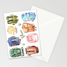 Backpacks Stationery Cards