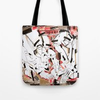 friendship Tote Bags featuring Friendship by 5wingerone
