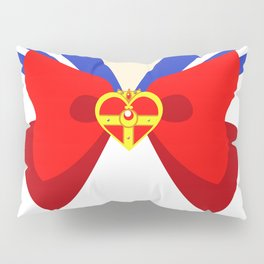 Sailor Moon Crowned Heart Pillow Sham