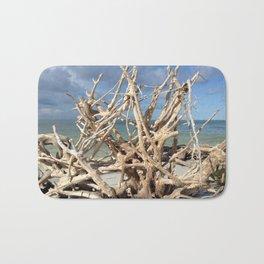 Driftwood Sculpture Cayo Costa Bath Mat