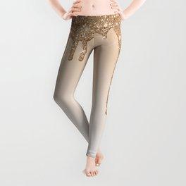 Dripping gold Leggings