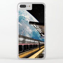 Life Station Clear iPhone Case