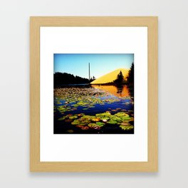 Collard Lake  Framed Art Print