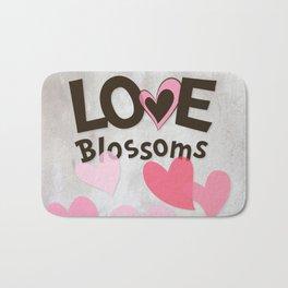 Love Blossoms Bath Mat