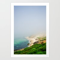 Aquinnah Cliffs Art Print
