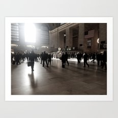 Early Morning, Grand Central Art Print