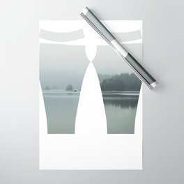 Fog - Landscape Photography Wrapping Paper