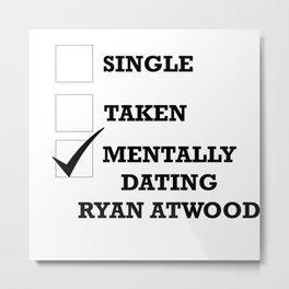Ryan Atwood Metal Print
