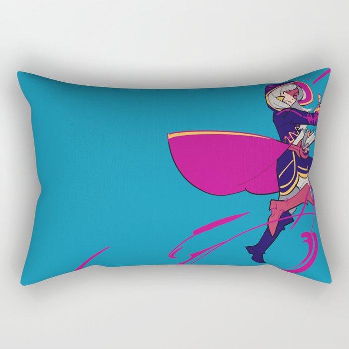 Arcfire Rectangular Pillow