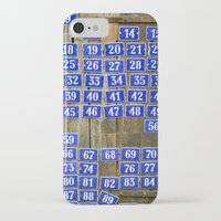 numbers iPhone & iPod Cases featuring Numbers by Marieken