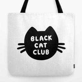 Black Cat Club Tote Bag