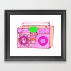 Stereos. Framed Art Print