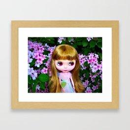FLORAL BLYTHE II Framed Art Print