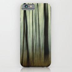 blurred woods Slim Case iPhone 6s