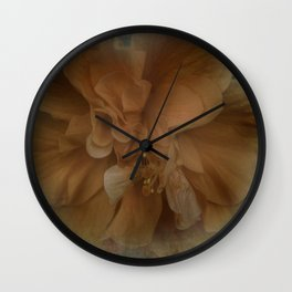 Shades of Orange Wall Clock