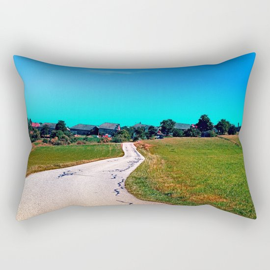 Uneven relations Rectangular Pillow