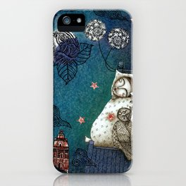 Bed-Time iPhone Case